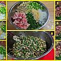 絲瓜肉餡餅和韭菜肉餡餅~秋菊阿嬤家常料理分享
