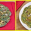 茴香蘑菇煎餅