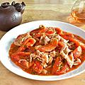 番茄炒火鍋肉片