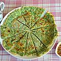 洋蔥茴香餅