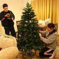 2007年在希臘的第一顆聖誕樹