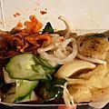 """20140501台南美食推薦-超特別鐵板的香腸大腸.花園夜市""""紅妃香腸大腸""""(食尚玩家推薦)"""