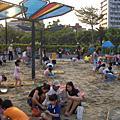 0530天母公園玩沙