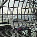 曼谷機場泰航頭等艙地面服務