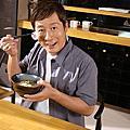 日本主持人[瀨上剛]代言拉麵廣告