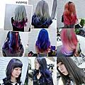特殊色染髮設計