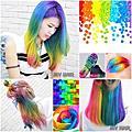 髮色-彩虹糖果色