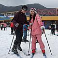 091212滑雪 南怡島