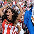 巴拉圭內衣名模拉莉莎