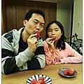 20170219內湖採草莓+實踐大學慶生