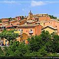 2018 西葡&南法紀行~~法國France~~水泉村Fontaine de vaucluse、紅土城Roussillon