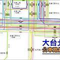 大台北公車路網全覽圖