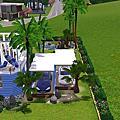 模擬小小屋-夏日風情