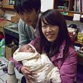 2009/12/27 小泡芙滿月
