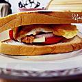 食譜:厚切番茄鮪魚吐司堡