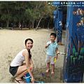2013.8.27苗栗通霄海水浴場初體驗