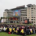 20120128朝禮法會(in台灣的那爛陀大學)