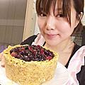 2017年03月27日藍莓餡起司蛋糕
