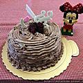 2017年04月04日古典巧克力蛋糕