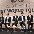 [新聞圖] 130610 1st World Tour 記者會
