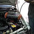 小白引擎除碳+冷氣保養+引擎室拉桿