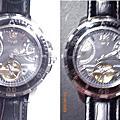 20090629 TIMEX天美時前開式透視機械錶 T2M513