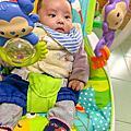 【育兒好物開箱】安撫幼兒解放雙手的多功能搖搖椅