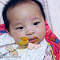 【雙胞胎-育兒甘苦】4個月進入副食品試滋味