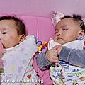 【雙胞胎-育兒甘苦】一起餵奶可以激發喝奶的動力