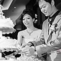 Super ♥ Claire Wedding Party 【十年有成 百年好合】Wedding Party @ 新竹國賓飯店 (B&W)