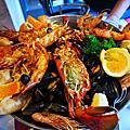 百年平價食堂Chartier & Restaurantes Pedra Alta 的海鮮大餐