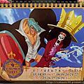 2016.10.31 2017海賊王桌曆