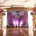 【婚禮佈置】紫色-午夜紫羅蘭-桃園尊爵天際大飯店