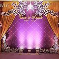 【婚禮佈置】紫金色-紫色饗宴-尊爵大飯店