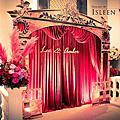 【婚禮佈置】紅金色-皇家歌劇院-台中星時代會館