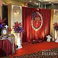 【婚禮佈置】紅紫金系-新古典-揚昇高爾夫球場