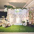 【婚禮佈置】白綠系-仲夏之夜-香江