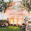 【婚禮佈置】白綠系-綠光森林-綠光花園