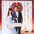 【婚禮佈置】紅白系-紅心甜霜-八里自宅