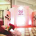 【婚禮佈置】粉色系-炫麗-揚升高爾夫會場