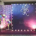 【婚禮佈置】紫色系-星夜-許廚師