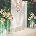 【婚禮佈置】白綠色系-靜翠-台北大倉久和