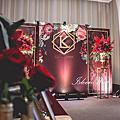 【婚禮佈置】酒紅系-蘊藏勃根地-台北雅悅會館