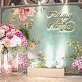 【婚禮佈置】Tiffany系-綠意翠蕾-桃園晶宴