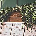 【婚禮佈置】粉綠系-原木拾光-萬豪酒店Garden Kitchen
