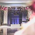 【婚禮佈置】藍金系-我們的星空-台北君悅