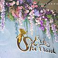 【婚禮佈置】藍粉色系-Mermaid style-揚昇高爾夫球鄉村俱樂部