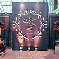 【婚禮佈置】紫金色系-愛情緣舞曲-桃禧航空城酒店