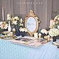 【婚禮佈置】粉藍色系-迷幻蒙馬特-南方莊園