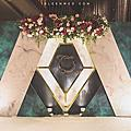【婚禮佈置】紅綠色系-沐光森林-世貿三三婚宴會館